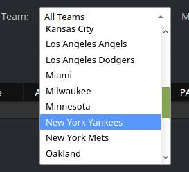 Full Team Names